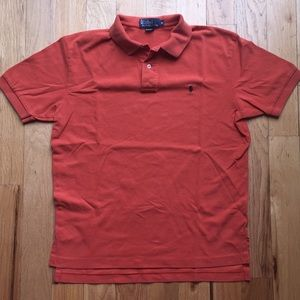 Polo short sleeved Mens Classic Shirt.